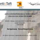 Arte Contemporanea e Territorio: una nuova sfida per Roma