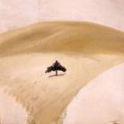 Carlo Mattioli, Paesaggio d'estate, 1969, Olio su tela, 60 x 70 cm, Collezione privata | Courtesy of Labirinto della Masone, Fontanello, Parma