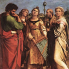 Estasi di Santa Cecilia fra i Santi Paolo, Giovann