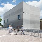 Kunstmuseum Basilea, Julian Salinas. Il nuovo edificio del museo, collegato alla sede storica del Kunstmusem attraverso una galleria sotterranea, è stato inaugurato nel 2016 ed è opera dello studio Christ & Gantenbein di Basilea.
