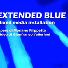 Extended Blue. Mixed Media Installation