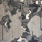 Sten Lex, Confini - Mar piccolo, 151x126, Stencil Poster, 2019 | Courtesy of Sten Lex