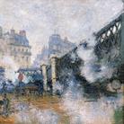 Claude Monet (1840 - 1926), Il ponte dell'Europa, Stazione Saint-Lazare, 1877, Olio su tela, 65 x 81 cm, Parigi, Musée Marmottan Monet, Dono Eugène e Victorine Donop de Monchy, 1940 | © Musée Marmottan Monet, Paris / Bridgeman Images