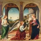 Biagio d'Antonio (Attribuito), Annunciazione, 1505 circa, Olio su tela