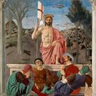 Piero della Francesca, Resurrezione, 1463 -1465, Affresco e tempera, 225 x 200 cm, Museo Civico di Sansepolcro