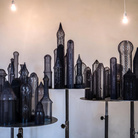 Dalla sabbia, opere in vetro - Elena El Asmar. L'esercizio del lontano