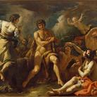 Sebastiano Ricci, Ercole al bivio, 1698-1703 circa, Olio su tela, 257 x 181 cm