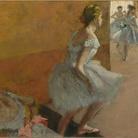 Edgar Degas, Danseuses montant un escalier / Ballerine che salgono una scala
