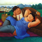 Botero inaugura a Roma una mostra che ripercorre i suoi 50 anni di carriera