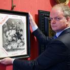 Agli Uffizi la riproduzione dell'opera di Jan van Huysum rubata dai nazisti: l'appello di Schmidt per il rientro in Italia