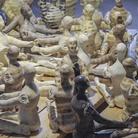 Paolo Staccioli, Bambole, Particolare, Ceramica, 160 x 120 x 60 cm