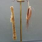 Mammuthus primigenius, pelame e frammento di pelle; Turuchansk, Siberia. Dono del prof. J.F. Brandt, 1869. Museo di Storia Naturale dell'Università di Firenze, Sezione di Geologia e Paleontologia