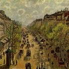Camille Pissarro, Boulevard Montmartre, Primavera, 1897.