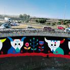 La street art colora il GRA