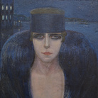 Adrana Bisi Fabbri, La marchesa Pignatelli, 1917, Museo del Paesaggio, Verbania