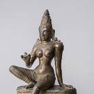 Pārvatī Tamil, Nadu, XI secolo d.C., Lega di rame, 37.5 cm