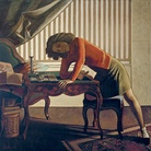 Balthus, La Patience, 1943, Balthus. The Art Institute of Chicago, Joseph Winterbotham Collection opera