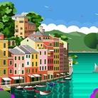 Alfredo Pieramati. Colors for Portofino