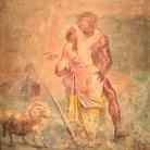 Amori di Polifemo e Galatea, Proveniente dalla Casa dei Capitelli Colorati di Pompei, Napoli, MANN | Foto: Author Mentnafunangann (Own work) via Wikimedia Creative Commons