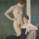 Oscar Hermann Lamb, La coppa verde, 1933, Olio su tela, Collezione privata | Courtesy of Musei San Domenico, Forlì, 2017