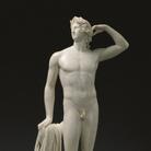 Antonio Canova, Apollo che si incorona, 1781 - 1782, Marmo, 41.9 x 84.7 x 26.4 cm, Los Angeles, The J. Paul Getty Museum