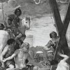 Sant'Andrea adora la croce del suo martirio
