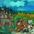 L'universo di Ligabue, tra pittura e scultura, in mostra al Forte di Bard