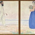 Cuno Amiet, Doppio ritratto (Doppelporträt), 1903, Tempera su tela, 192 x 114 cm, Collezione privata