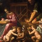 La Sacra Famiglia con San Giovannino di Giovan Francesco Lampugnani