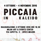 Kaleido. Giorgio Piccaia solo exhibition