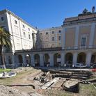 Una fornace romana riemerge nel giardino di Palazzo Corsini