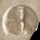 Stele di Aurelio Aplo, Fine III secolo d.C. Calcare, 75 x 18 x 126 cm, Museo Archeologico Nazionale di Aquileia | Foto © Gianluca Baronchelli