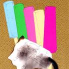 Alvise Bittente, TRITTICO POLItTICO, RED HOT ICE CREAM PIE, 2018 Disegni realizzati a penna china nera e bianca Rotring Rapidograph 0.18 e 0.2 su cartoncini colorati e applicati su texture oro e argento | Courtesy of A plus A Gallery, Venezia