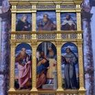 Palma il Vecchio. Polittico della Resurrezione con i Santi Filippo e Giacomo