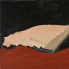 Carlo Mattioli, Nudo coricato, 1970, Olio su tavola, 52.5 x 28 cm, Collezione privata | Courtesy of Labirinto della Masone, Fontanello, Parma