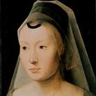 Hans Memling, Ritratto di donna, particolare, 1470-1475. Private Collection of J. William Middendorf II collection, USA
