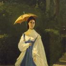 Signora in giardino, 1861, Collezione Enrico Checcucci | Courtesy of Dart - Chiostro del Bramante e Arthemisia Group 2016