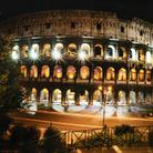 Messaggi di luce al Colosseo