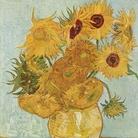 Vincent Van Gogh, Vaso con dodici girasoli, Particolare, 72 x 91 cm, Olio su tela, Monaco di Baviera, Neue Pinakothek