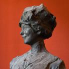 Paolo Troubetzkoy, Mia moglie, Databile al 1911, Gesso patinato bronzo, 80 x 76 x 183 cm | Courtesy of Museo del Paesaggio di Verbania | Foto: Francesco Lillo 2016