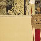 Gusatv Klimt, Manifesto per la prima mostra della Secessione Viennese (26.03.1898 - 20.06.1898), Litografia a colori su carta | © Klimt Foundation, Wien