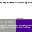 The Sea. Sounds & Storytelling. Part II