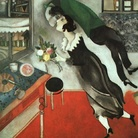 Marc Chagall, Il compleanno, 1915, Olio su cartone, The Museum of Modern Art, New York, Acquired through the Lillie P. Bliss Bequest, 1949 | © 2014, Digital image, The Museum of Modern Art, New York/Scala, Firenze © Chagall ® by SIAE 2014