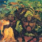 Antonio Ligabue, Gorilla con donna, 1957-1958, Olio su tavola di faesite, 88 x 100 cm
