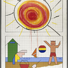 Omaggio ad Aldo Mondino / Quadrettature, Monocromi,  Casorati, Onde 1963-64