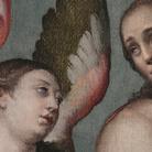 Bartolomeo Passerotti. San Giovanni Battista tra San Michele Arcangelo e Santa Lucia
