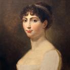 Andrea Appiani, Ritratto di Augusta Amalia di Baviera, 1806, Olio su tela, 44 x 58 cm,Galleria d'Arte Moderna, Milano