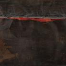 Caravaggio. Il contemporaneo, Mart - Museo di arte moderna e contemporanea di Trento e Rovereto, 9 ottobre 2020 - 14 febbraio 2021 | Alberto Burri (1915 - 1995), Ferro SP, 1961, Roma, Galleria Nazionale di Arte Moderna e Contemporanea | Courtesy of Ministero per I Beni Culturali e Ambientali e del Turismo e Mart - Museo di Arte Moderna e Contemporanea di Trento e Rovereto