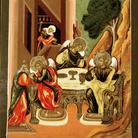 Russia centrale, secondo quarto del XVIII secolo, tempera su tavola, cm 32,1 × 27,2 Firenze, Galleria degli Uffizi, Inv. 1890 n. 9352