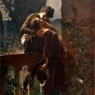 Julius Kronberg (1850-1921), Romeo and Juliet on the balcony